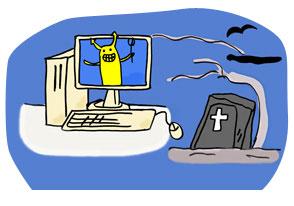 パソコンがウィルスの巣窟になってませんか?